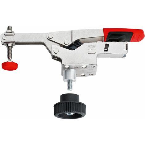 Bessey Sauterelle à serrage vertical avec bras ouvert et platine de fixation horizontale STC-HH avec jeu d'accessoires - STC-HH50-T20