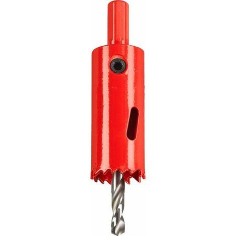 KWB Scies trépans HSS bi-métal, avec queue de montage et foret de centrage, ø 25 mm - 598525