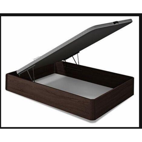 Canape abatible para cama de 90,135 0 150 cm wengue 35 cm(alto)90-135-150 cm(ancho)190-200 cm(largo) Medidas 90 x 190 cm.