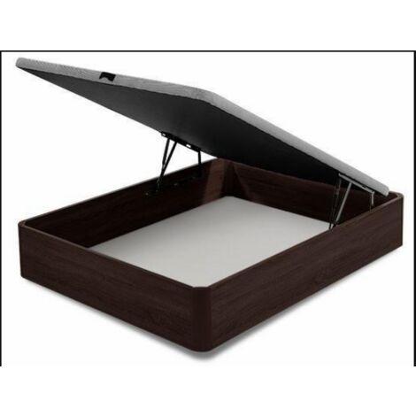 Canape abatible para cama en varias medidas wengue 35 cm(alto)90-105-135-150 cm(ancho)190-200 cm(largo) Medidas 90 x 190 cm.
