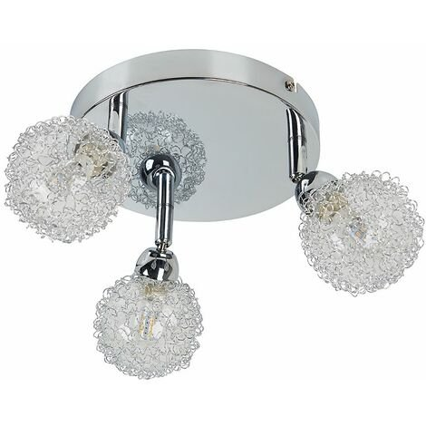 Alambre 3 Way Ceiling Light Fitting - Adjustable