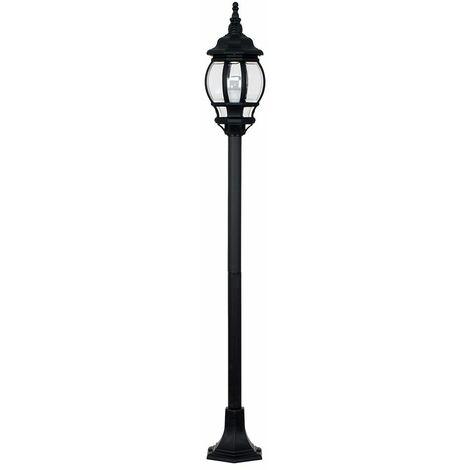 Outdoor LED IP44 Light Rainpoof - Bollard Light - Black