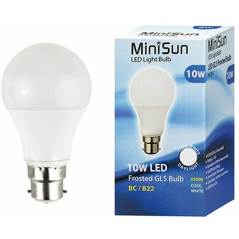 4.5W WARM WHITE DIMMABLE BC B22 CANDLE LED BULBS X 2 ENERGIZER LAMPS A 25W