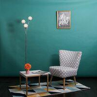 MiniSun - Chrome Floor Lamp Living Room Light 3 Way - No Bulbs