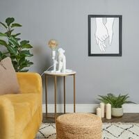 Quirky Monkey Holding Bulb Table Lamp Bedside Light Lounge Lighting - White