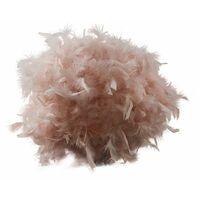 MiniSun - Uriel Feather Table Lamp - Pink