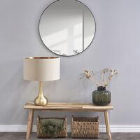 MiniSun - Table Lamp in Satin Gold - Beige & Gold
