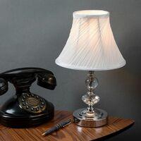 MiniSun - Touch Table Lamp Light Chrome Brass Traditional Light