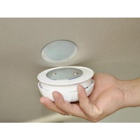 Magnetopad 10er Set, Magnetbefestigung für Rauchmelder