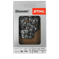 "Chaîne de scie pour Stihl Picco Micro 3 (PM3) 1/4"" 1,1 mm 30 cm"