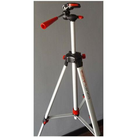 Pack Niveau laser croix et trépied alu 1.50m