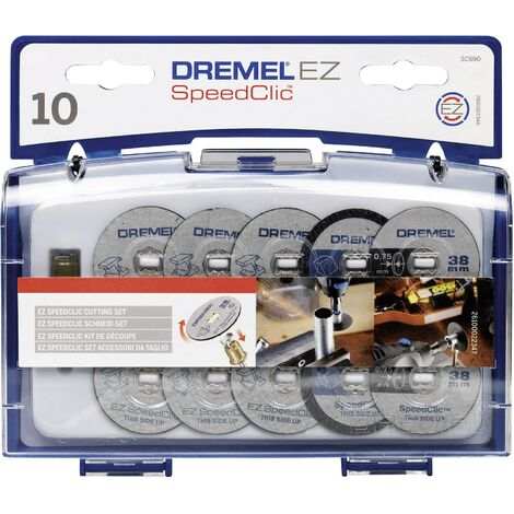 Dremel SC690 2615S690JA Trennscheiben-Set 12teilig 38mm 1 Set C98111
