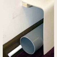 Pipe Boxing 150 x 300mm 90� Commercial