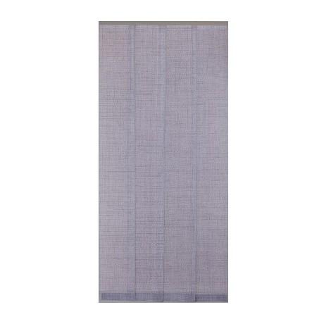 MOREL - Moustiquaire Moustitendance 100x220 cm - quadrillage gris, noir