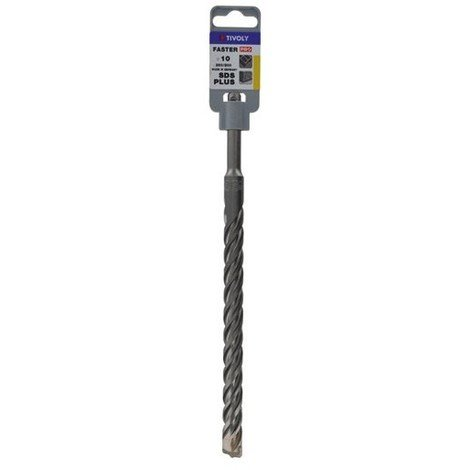 TIVOLY - Foret béton faster queue SDS - D : 10 mm L : 260 mm