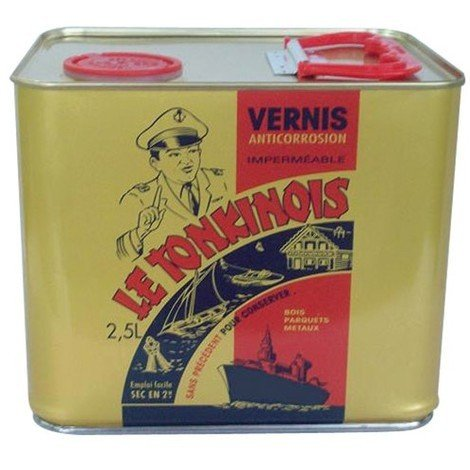 LE TONKINOIS - Vernis marin - 2.5L