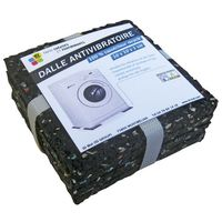 ID MAT - Dalle anti-vibration - 100x100x10 mm - lot de 4
