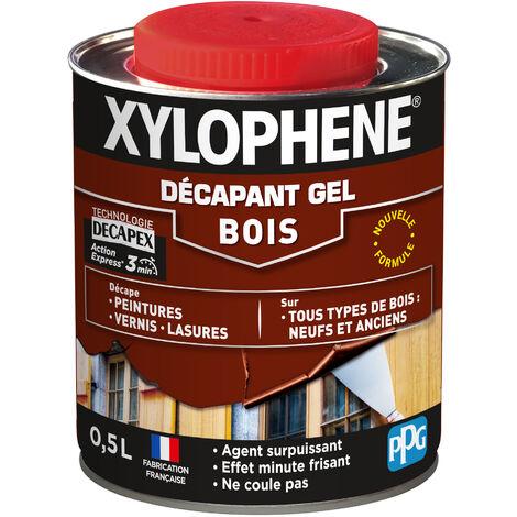 Décapant Gel Bois 0,5L Xylophene - Incolore - Incolore