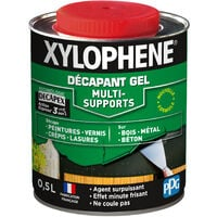 Décapant Gel Universel 0,5L Xylophene - Incolore - Incolore