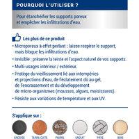 Imperméabilisant Façade/Sol/Toiture, 1L, Ripolin - Incolore - Incolore