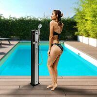 AREBOS Ducha solar de 20 l   Ducha de jardín   Ducha de piscina   Ducha exterior