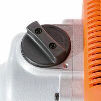 Arebos Mezclador eléctrico de mortero Mezclador de pintura 1200 W - naranja