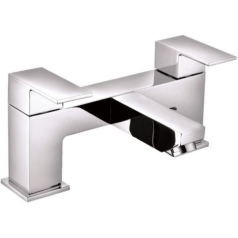 VeeBath Margate Modern Bath Filler Mixer Tap Bathroom Tub Faucet - Chrome