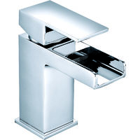 VeeBath Sphinx Gloss White 700mm Vanity Unit with Kinross Chrome Mixer Tap