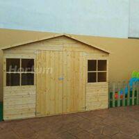 Casetta in legno Lopun (12mm di spessore, 272x182cm, 4,96m2)