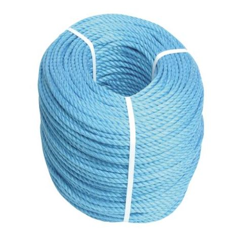 Blue Poly Rope 6mm 30m Long