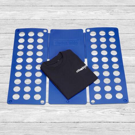 Wäschefalter 2 x Faltbrett für Wäsche Falthilfe für T-Shirts und Hemden
