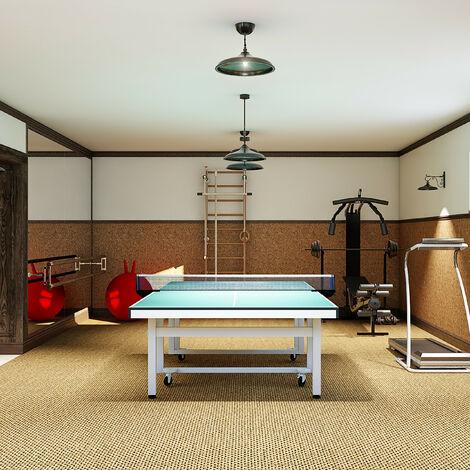 Tischtennisnetz Profi wasserabweisend Tischtennisgarnitur Outdoor blau schwarz