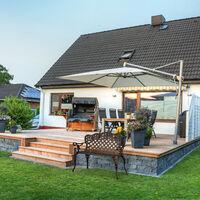 Banc de jardin, roses, terrasse,balcon, aluminium et fonte, antique, 56 x 98 x 55,5 cm,choix de couleurs