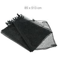 Filet de cadre trampoline filet de protection filet de sécurité pour le sol accessoire jardin Ø 366 cm, noir