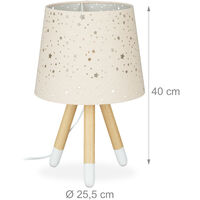 Lampe chevet, veilleuse pour enfants,garçons et filles,E14. Abat-jour rond, 40cm de hauteur,choix de couleur