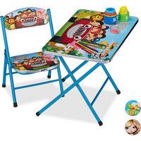 MEDIA WAVE store 211649 Sediolina per Bambini Apri e Chiudi Colori di Colore Giallo e Fantasie assortite