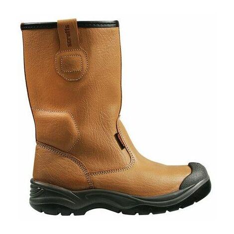 Scruffs T54584 Gravity Rigger Boots Tan Size 11 / 46