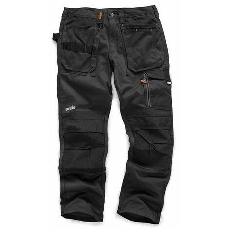 Scruffs T51991 3D Trade Trouser Graphite 32L