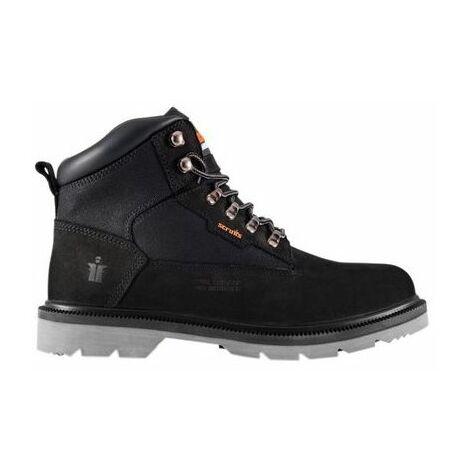 Scruffs T54323 Twister Nubuck Boots Black Size 8 / 42