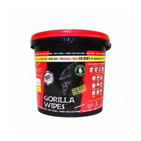 Gorilla Wipes GW1012 Bulk Bucket Tub of 250