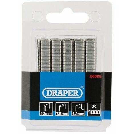 Draper 66085 1000 Staples (10mm)