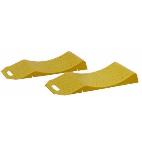 Sealey TS05 Tyre Savers - 2.5tonne Capacity per Ramp 5tonne Capacity per Pair