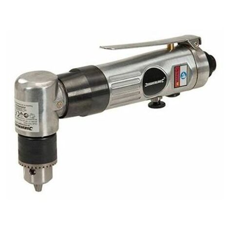 """Silverline 361429 Air Drill Angled 10mm / 3/8"""""""