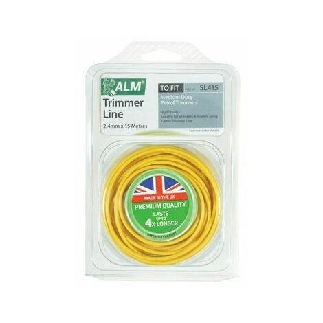 ALM Manufacturing SL415 Medium-Duty Petrol Trimmer Line 2.4mm x 15m