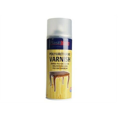 Plasti-Kote PKT592 Varnish Spray Clear Satin 400ml