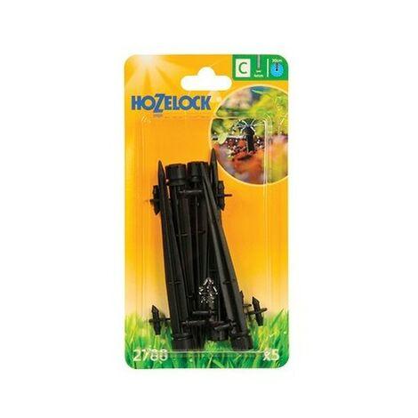 Hozelock 2788 Endline Adjustable Mini Sprinkler on Stake 4mm (5 Pack)