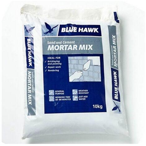 Artex 5200104872 Blue Hawk Sand and Cement Mortar Mix 10kg