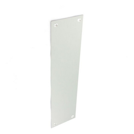 Securit S3140 Aluminium Finger Plate 300mm Pack Of 1