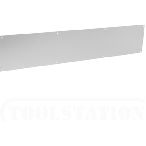 "Securit S3237 Aluminium Kicking Plate 32"" x 6"" Pack Of 1"