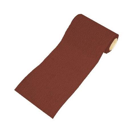 Faithfull FAIAR5120R Aluminium Oxide Sanding Paper Roll Red Heavy-Duty 115mm x 5m 120g
